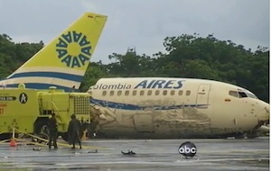 Crash of an ARIES 737